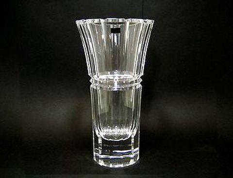 ホヤ 【クリスタルベース】 カット花瓶  H25cm 20%OFF