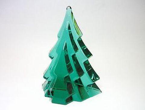 ホヤ 【クリスタル・クリスマス】 ツリー・エメラルド  H15cm 20%OFF