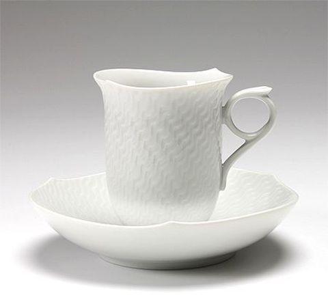 マイセン 【波の戯れホワイト】 コーヒーC/S 29582  21%Off