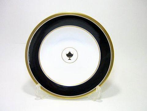 リチャードジノリ・インペロブラック 21cmスーププレート 30%Off