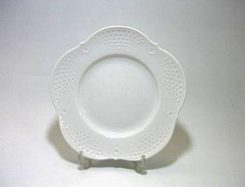 マイセン・ホワイトレリーフ 18cmプレート・26501 20%Off