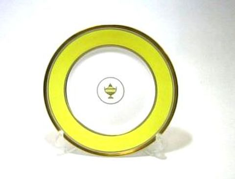 リチャードジノリ・インペロイェロー 20cmプレート  20%Off