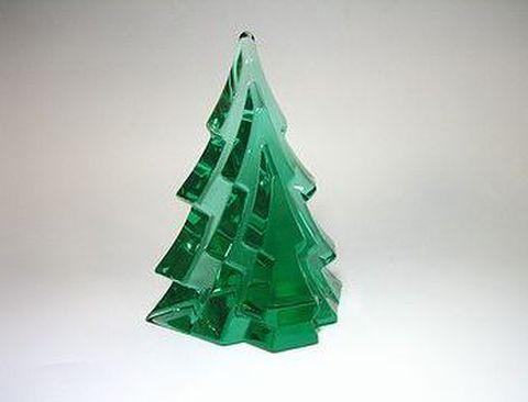 ホヤ 【クリスタル・クリスマス】 ツリー・エメラルド  H12cm 20%OFF