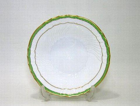 リチャードジノリ 【ベッキオジェンマ(翡翠)】  15cmフルーツソーサー 30%Off