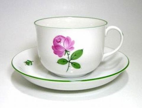 アウガルテン 【ウィーンナーローズ】  コーヒーC/S・シューベルト型  0.2L 25%Off