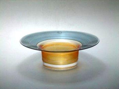 サルビアティ・ヴェネチアン・ストリンガ 16cmボウル オレンジ・グレー  30%OFF