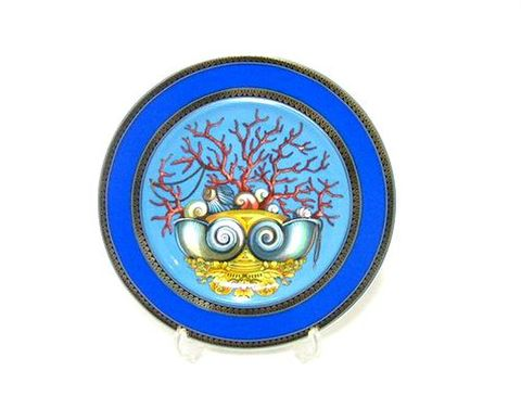 ヴェルサーチ(ローゼンタール) 【海の宝物】 18cmプレート 10%Off