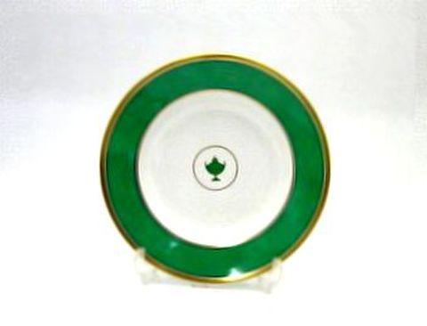 リチャードジノリ・インペログリーン 21cmスーププレート  30%Off