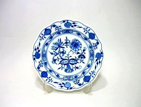 マイセン 【ブルーオニオン・800101】 14cmクッキープレート・500  20%Off
