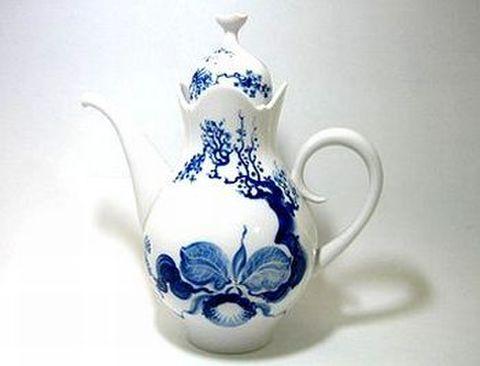 マイセン・ブルーオーキッド・824001 コーヒーポツト 1.5L・23694 30%Off
