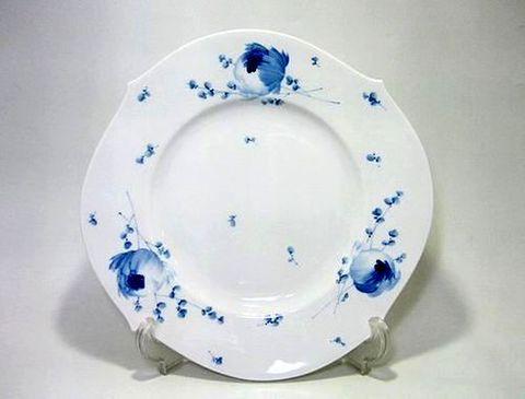 マイセン 【青い花・614701】 28.5cmプレート・28479 20%Off