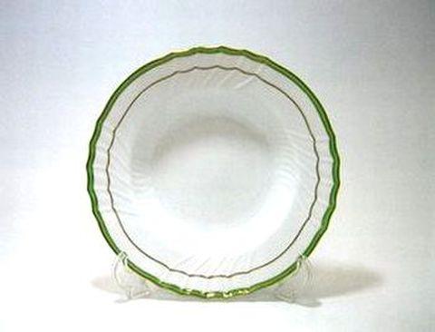 リチャードジノリ・ベッキオ・ジェンマ(翡翠) 20cmスーププレート 30%Off