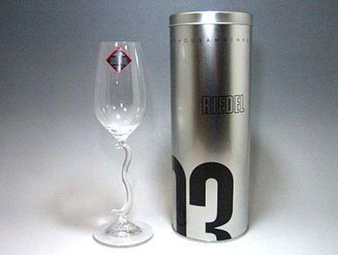 リーデル 【千年紀リミテッド】  ミレニアムグラス'03  H24cm 30%Off