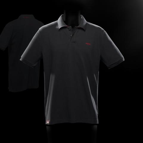 BRABUS クラシックブラックポロシャツ