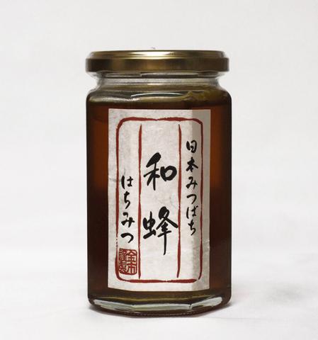 日本蜜蜂〈和蜂〉のはちみつ 350g