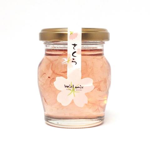 桜花びら入りはちみつ 110g