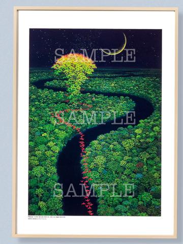 「聖剣伝説2」02ポスター額装(NA)