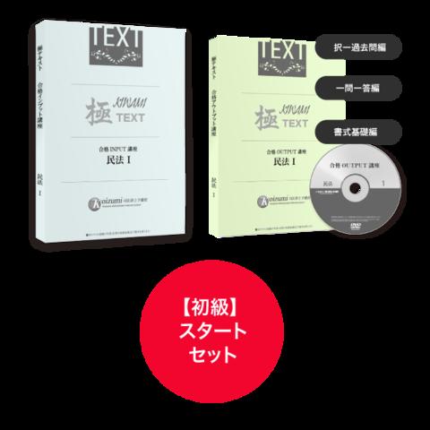 【2019初級】合格スタート・セット[司法書士]SHS19059