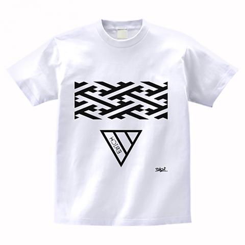 GEOMETRY TRIANGLE T-SHIRT WHITE