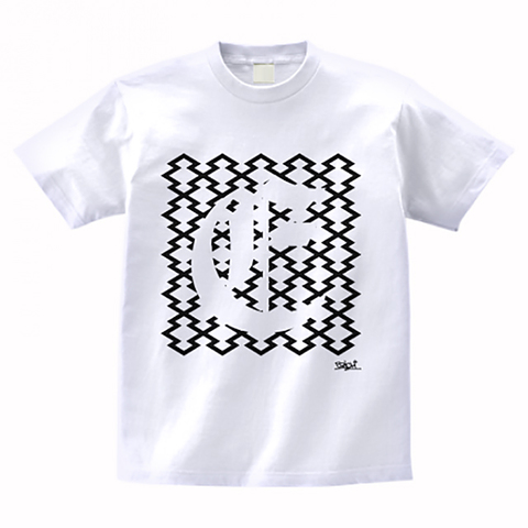 CLOISTER PATTERN T-SHIRT WHITE