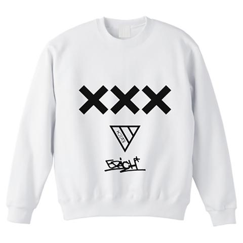XXX CREWNECK SWEAT WHITE