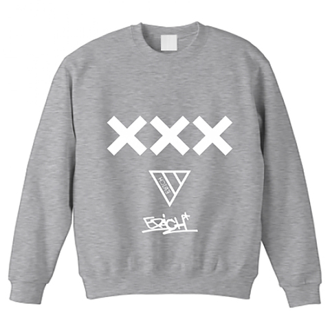 XXX CREWNECK SWEAT GRAY