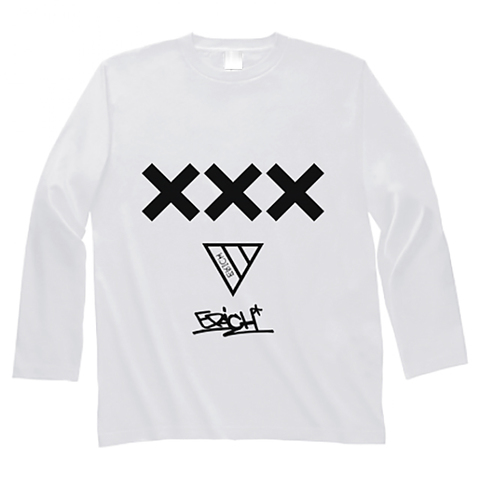 XXX LONG SLEEVE T-SHIRT WHITE