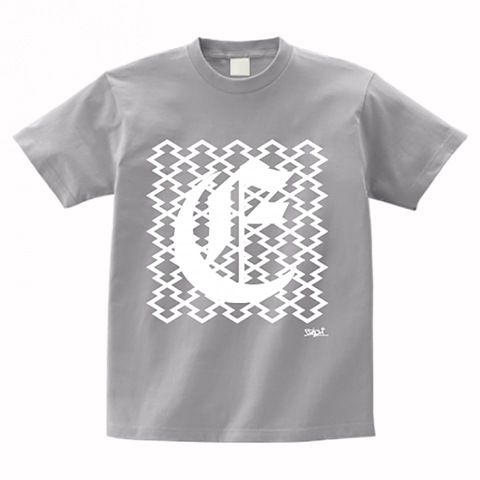 CLOISTER PATTERN T-SHIRT GRAY