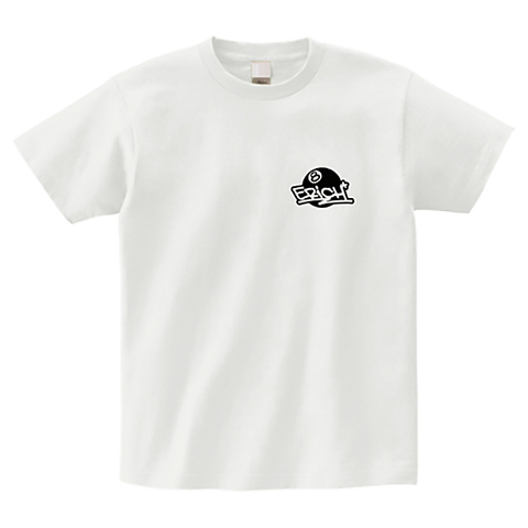 ONEPOINT EIGHT-BALL LOGO T-SHIRT WHITE