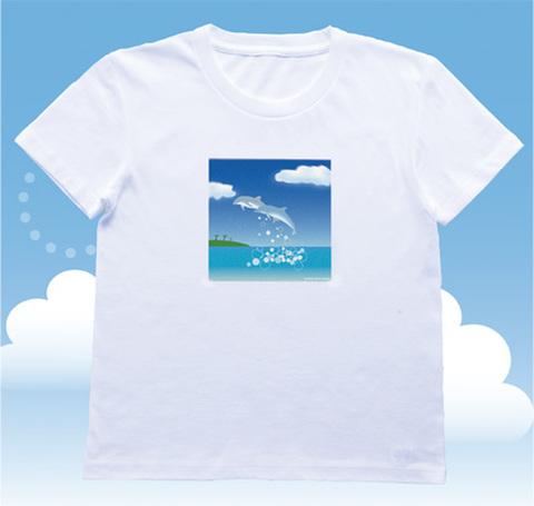 ERPハッピーサテライトTシャツ【聖なる癒し:婦人】