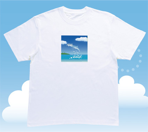 ERPハッピーサテライトTシャツ【聖なる癒し:紳士】