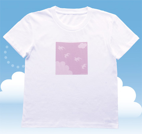ERPハッピーサテライトTシャツ【喜びへの飛翔:婦人】