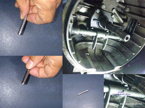 S500/600/800レリーズアームシャフトのボルト折れ対策