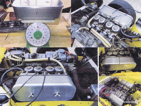 S800エアクリーナーカバー