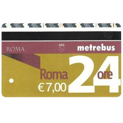 ローマ メトロ/バス 1日券