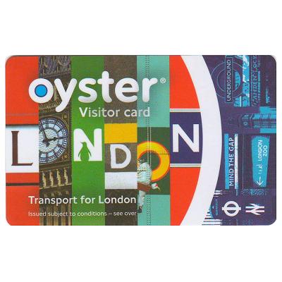 ロンドンオイスターカード (20ポンド入り/ビジター用)