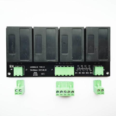 4セル用 12V アクティブセルバランサー イコライザー 複数のバッテリーのセルバランス機能