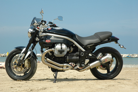 QD Exhaust Moto Guzzi Griso 850-1200 マフラー