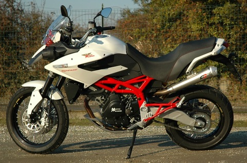 QD Exhaust Morini Granpasso 1200 マフラー