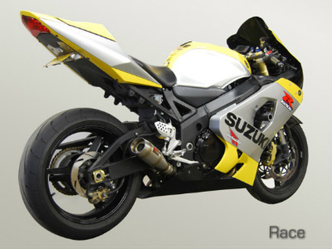 Competition Werkes GSX-R 750/600 スリップオン