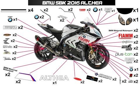 S1000RR 16' SBK アルテア グラフィック ステッカー