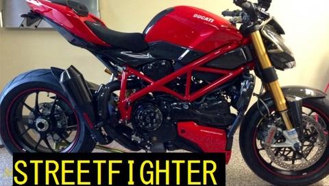 SHIFT-TECH Ducati ストリートファイター マフラー