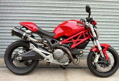 Pipewerx Ducati Monster 696/796/750 スリップオン