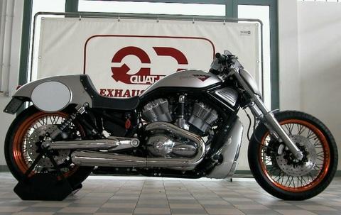 QD Exhaust ハーレー V-Rod maXcone