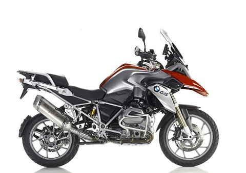 Bos exhaust BMW R1200GS 13-