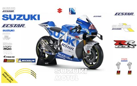 MotoGP 2020 GSX-RR レプリカ グラフィックステッカー