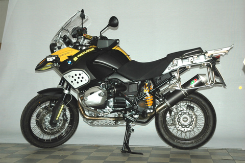 QD Exhaust BMW R1200 GS 10- マフラー