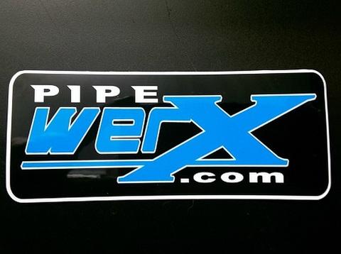 Pipewerx サイレンサーステッカー