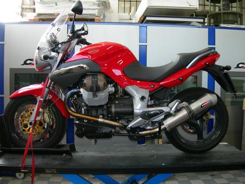 QD Exhaust Moto Guzzi Breva 850-1100