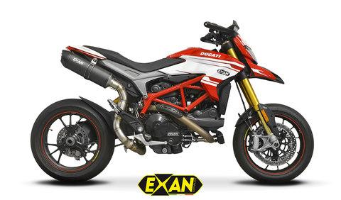 EXAN ハイパーモタード 821/939 SIL マフラー
